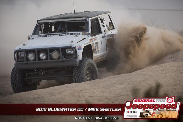 Mike Shetler, Jeepspeed, General Tire, KMC Wheels, Premier Automotive, Off Road Racing, Jeep