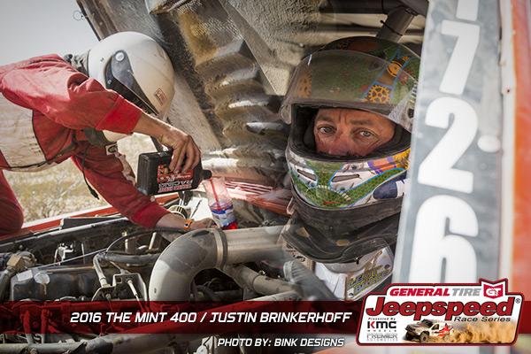 Justin Brinkerhoff, Jeepspeed, The Mint 400, Bink Designs, Off Road