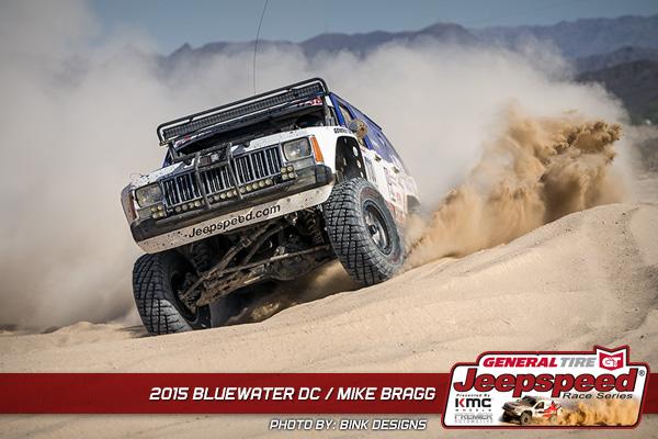 Mike Bragg, Jeepspeed, General Tire, Premier Automotive, Bink Designs, Parker