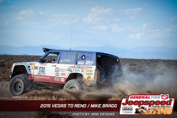 Jeepspeed, Mike Bragg, KMC Wheels, General Tire, Bink Designs