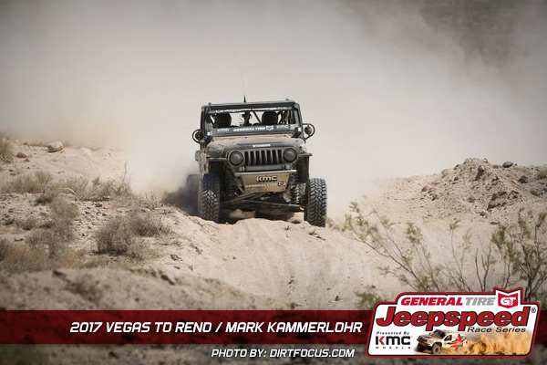 Jeepspeed, General Tire, Mark Kammerlohr, KMC Wheels