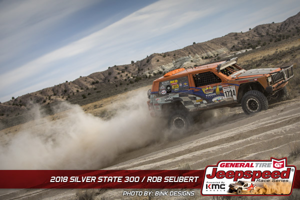 Rob Seubert, General Tire, Jeepspeed, KMC Wheels, Bink Designs