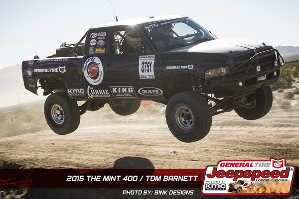 Tom Barnett, Jeepspeed, Dodge Ram, General Tire, Synergy Suspension