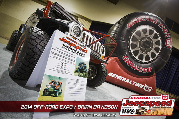 Jeepspeed, General Tire, Off Road Expo, Brian Davidson