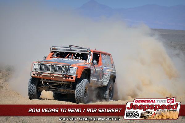 Jeepspeed, Rob Seubert, Vegas To Reno, General Tire