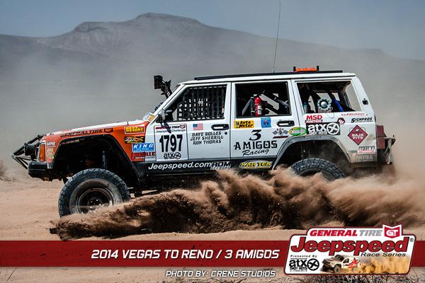 Jeepspeed, 3 Amigos Racing, General Tire, ATX Wheels