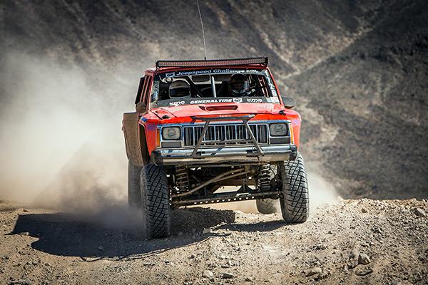Jeepspeed, General Tire, KMC Wheels, Jeep Cherokee, Jeep Racing, Bink Designs