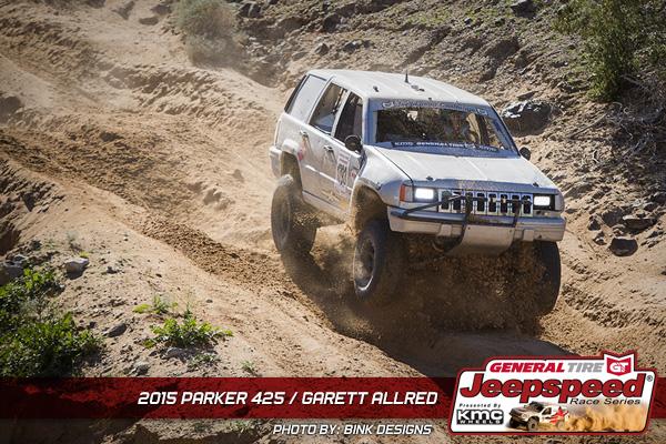 Garett Allred, Parker 425, KC Hilites, General Tire, Jeepspeed