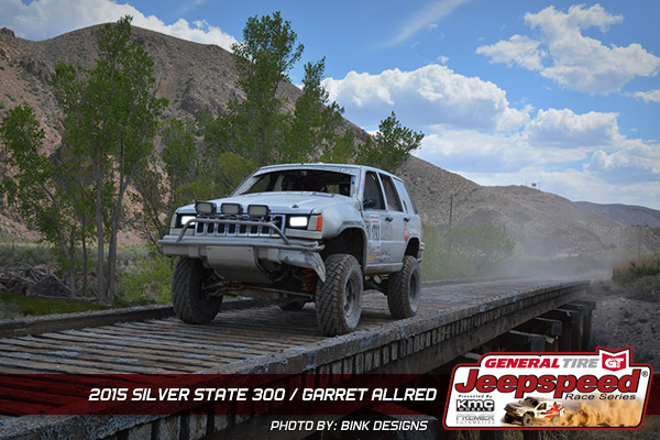 Garrett Allred, Silver State 300, General Tire, Jeep Grand Cherokee, Off Road