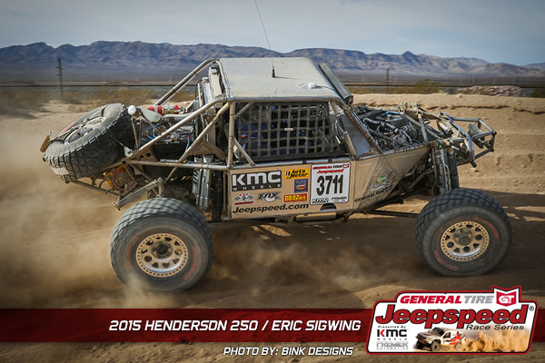 Eric Sigwing, Jeepspeed