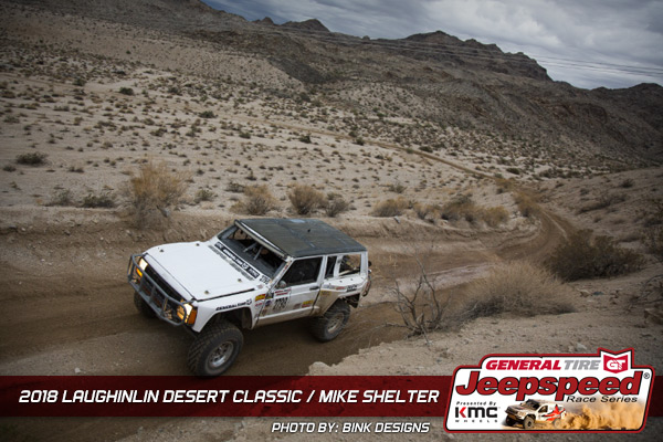 Jeepspeed, Mike Shelter, General Tire, KMC Wheels, Bink Designs