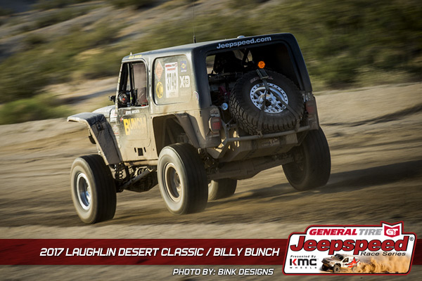 Billy Bunch, Jeepspeed, KMC Wheels, General Tire, Laughlin Desert Classic
