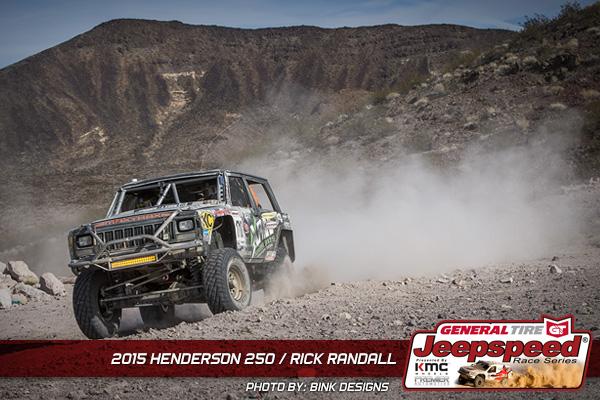 Jeepspeed, Rick Randall, Bink Designs, General Tire