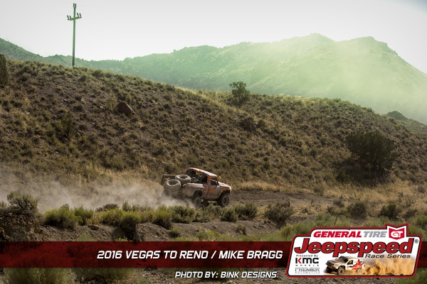 Mike Bragg, Best In The Desert, Vegas To Reno, Bink Designs, KMC Wheels, General Tire