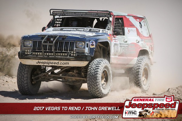 John Grewell, Jeepspeed, General Tire, KMC Wheels, Vegas To Reno