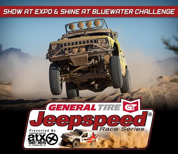 Dustin Hoffman Wins General Tire Jeepspeed ATX Wheels BITD Bluewater Desert Challenge