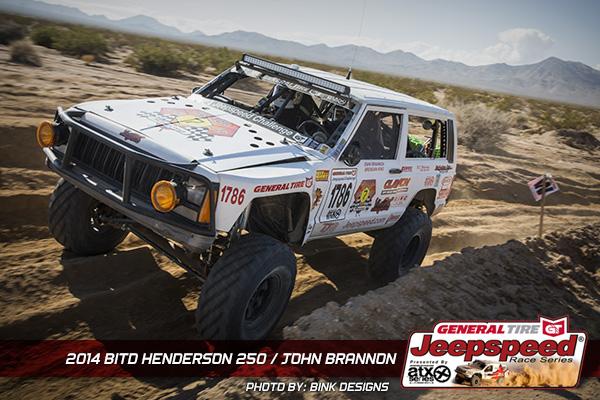 John Brannon, Jeepspeed, ATX Wheels, General Tire, Bink Designs