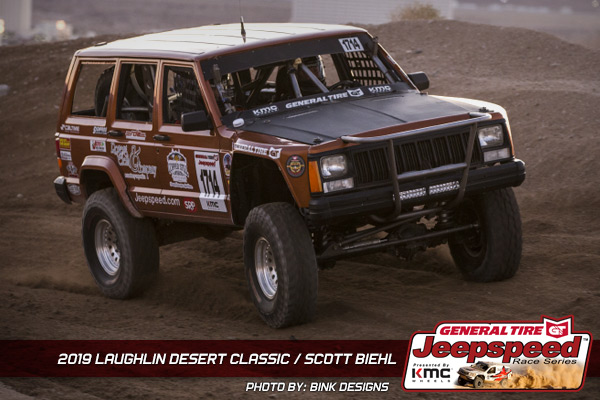 Scott Biehl, Jeepspeed, General Tire, KMC Wheels, Bink Designs