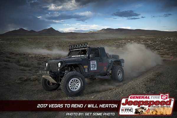 Will Heaton, Jeepspeed, General Tire, KMC Wheels, Vegas To Reno