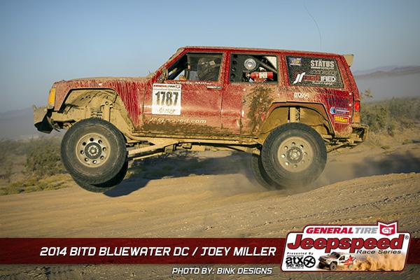 Joey Miller, Jeepspeed, ATX Wheels, General Tire, King Shocks