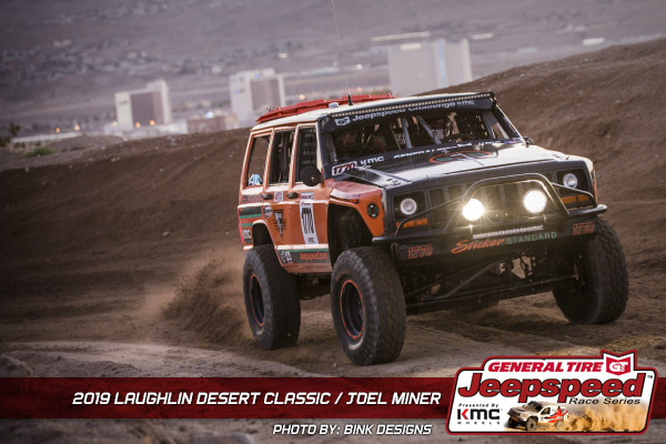 Joel Miner, Jeepspeed, General Tire, KMC Wheels, Bink Designs