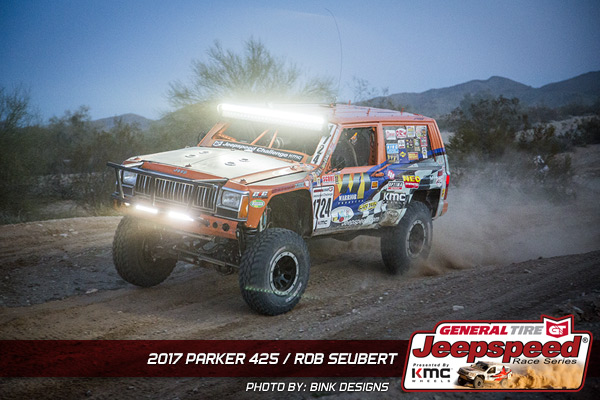 Rob Seubert. Jeepspeed, General Tire, KMC Wheels, Bink Designs