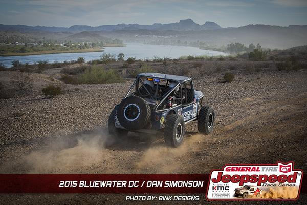 Dan Simonson, Jeepspeed, General Tire, Bink Designs, Rubicon Express