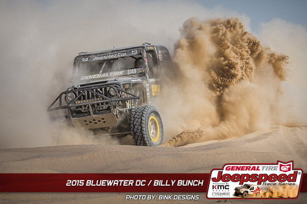 Billy Bunch, Jeepspeed, General Tire, Parker, Bink Designs, Premier Automotive
