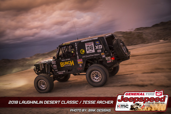 Jesse Archer, Jeepspeed, General Tire, KMC Wheels, Bink Designs
