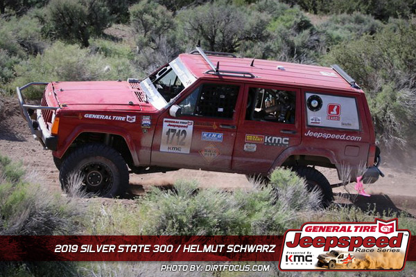 Helmut Schwarz, Jeepspeed, General Tire, KMC Wheels