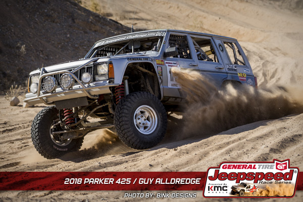 Guy Alldredge, Jeepspeed Race Series, General Tire, KMC Wheels, Bink Designs