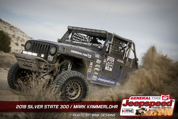 Mark Kammerlohr, Jeepspeed, General Tire, KMC Wheels, Bink Designs, GG Lighting, T&J Performance