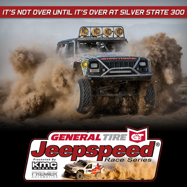 General Tire Jeepspeed Silver State 300, KMC Wheels, Premier Automotive