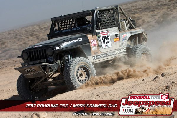Mark Kammerlohr, Jeepspeed, General Tire, KMC Wheels, GG Lighting, Bink Designs, Off Road