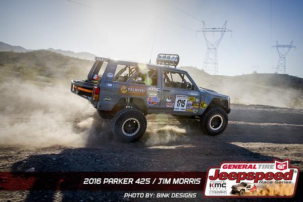 Jim Morris, Jeepspeed, KC Hilites, KMC Wheels