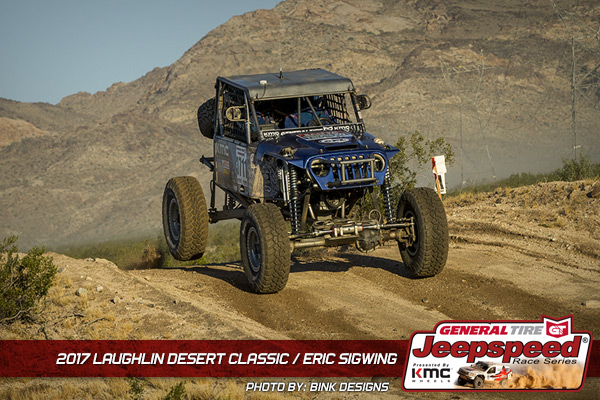 Eric Sigwing, Jeepspeed, GrabberX3, General Tire, KMC Wheels