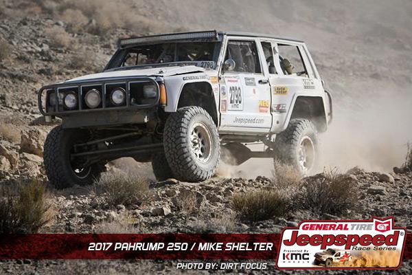 Jeepspeed, Mike Shelter, Pahrump 250