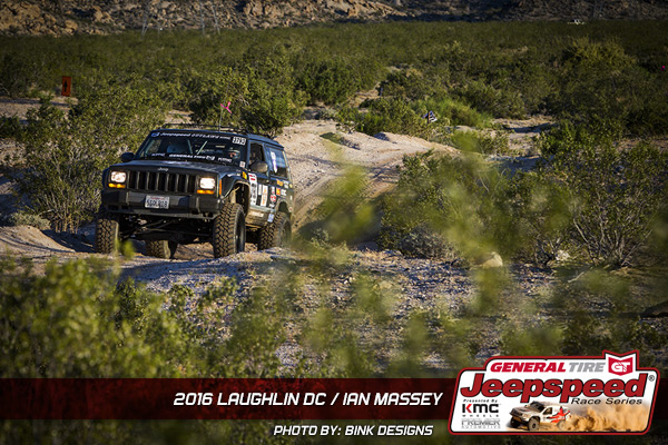 Ian Massey, Jeepspeed, General Tire, Laughlin Desert Challenge, Jeep, Off Road Racing