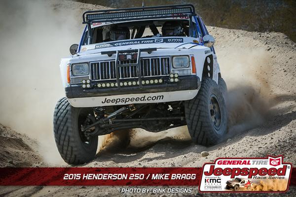 Mike Bragg, Jeepspeed