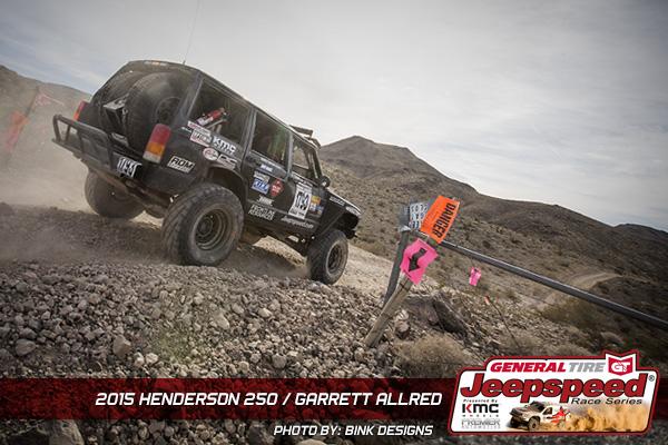 Garrett Allred, Jeepspeed, KMC Wheels, General Tire, Premier Automotive, Bink Designs