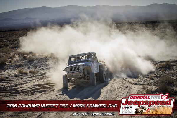 Mark Kammerlohr, Jeepspeed, General Tire, Best In The Desert, Off Road Racing, Bink Designs, KMC Wheels, GrabberX3