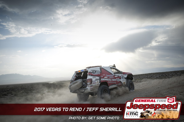 Jeepspeed, Vegas To Reno, Jeff Sheriff, General Tire, KMC Wheels