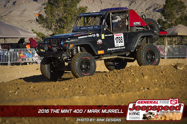 Mark Murrell, Jeepspeed, The Mint 400, General Tire, Bink Designs
