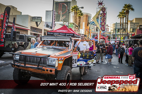 Jeepspeed, General Tire, The Mint 400, KMC Wheels, Bink Designs, Jeep