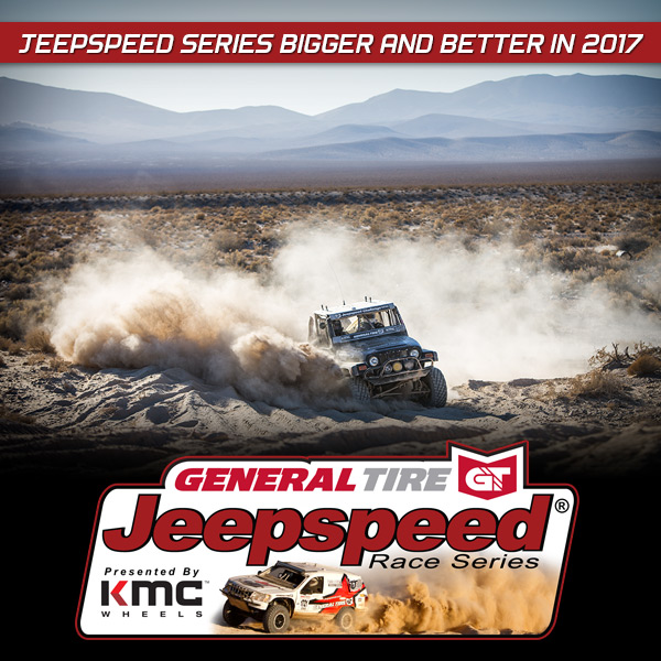 General Tire Jeepspeed Series Presented By KMC Wheels Bigger And Better In 2017