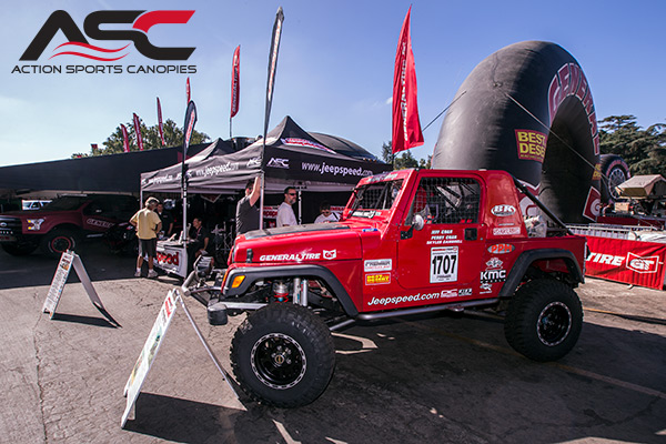 Action Sports Canopies, Jeepspeed
