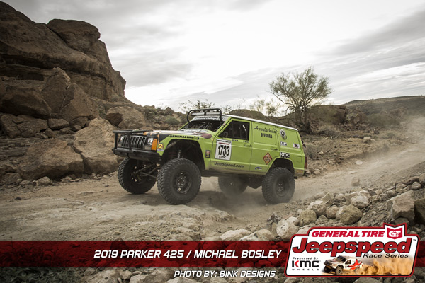 Michael Bosley, Jeepspeed, General Tire, KMC Wheels, Bink Designs