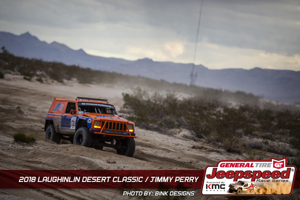 Jimmy Perry, Jeepspeed, General Tire, KMC Wheels, Bink Designs