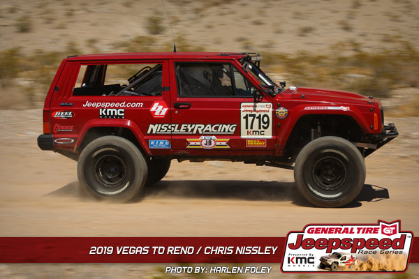 Chris Nissley, Jeepspeed, General Tire, Vegas To Reno, KMC Wheels