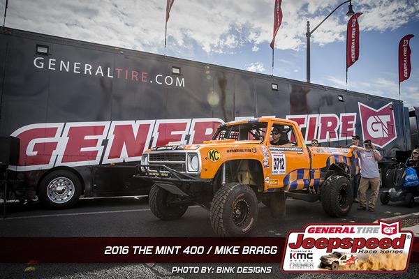 Jeepspeed, Mike Bragg, The Mint 400, Bink Designs, General Tire
